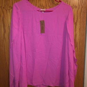 **brand new** cremieux S blouse with tags attached
